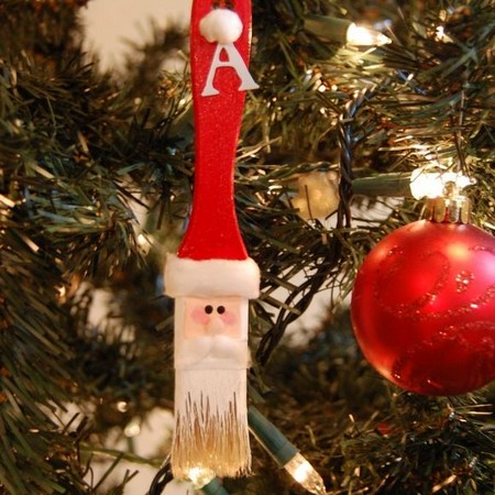 Christmas Light Craft Ornament