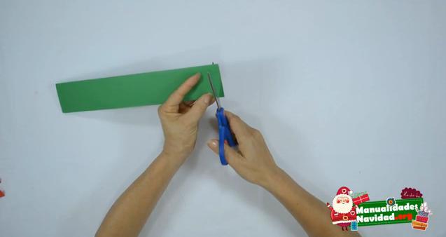Como hacer guirnaldas navideñas con papel 2