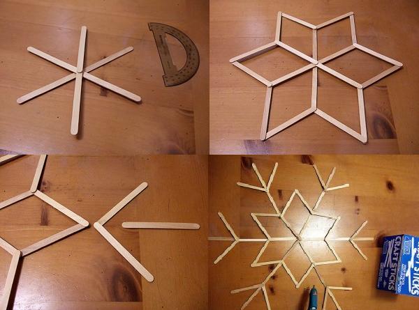 Copos de madera
