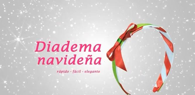 Diadema navideña para decorar el cabello 1