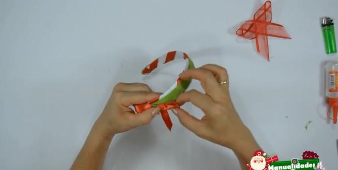 Diadema navideña para decorar el cabello 4