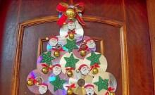 adorno navideño reciclado