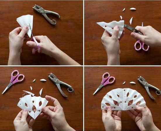 Manualidades navidad adornos navidenos de papel paso a paso for Adornos navidenos origami paso a paso