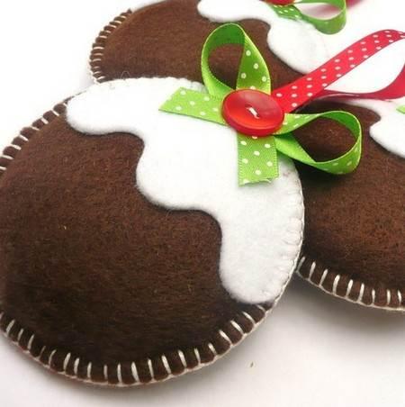 Manualidades para navidad de fieltro for Manualidades para hacer adornos de navidad