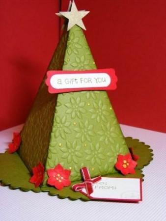 Arbol de Navidad para dulces