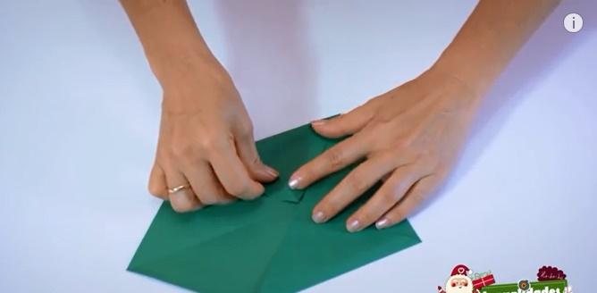 caja navideña de papel 2