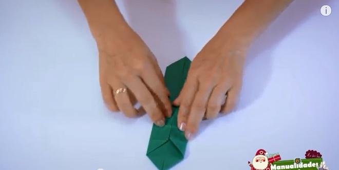caja navideña de papel 5