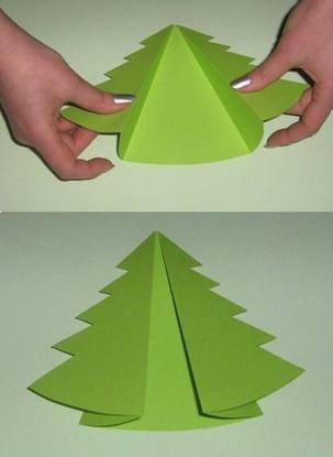 tarjetas de navidad con cartulinas