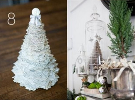 Como Hacer Arbolitos De Navidad De Papel Faciles - Hacer-arboles-de-navidad