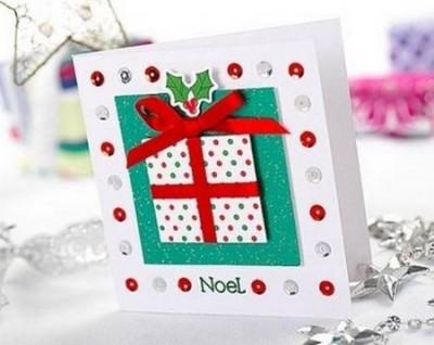 Tarjetas para navidad 2016 - Como hacer tarjetas de navidad faciles ...