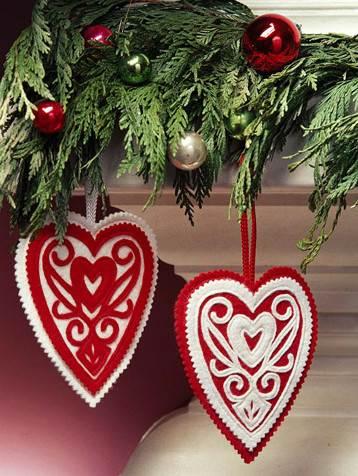 manualidades para navidad de fieltro