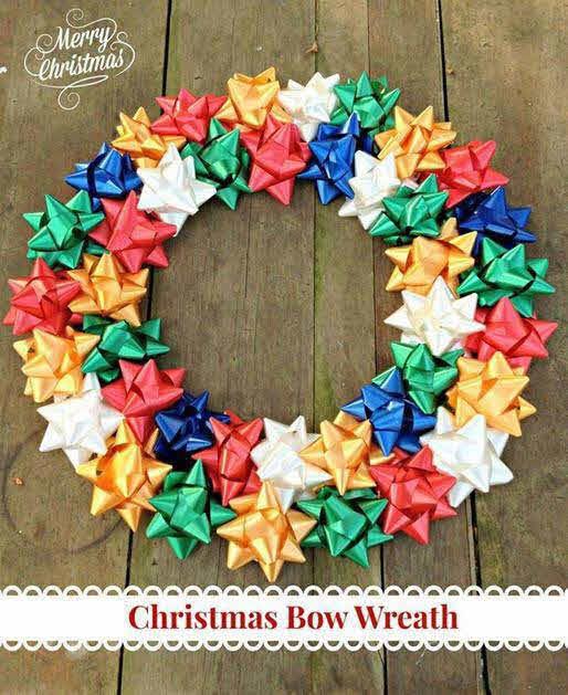 Manualidades para navidad corona de navidad christmas - Coronas de navidad ...