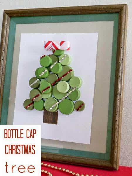 decoraciones para navidad con reciclaje