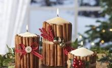 velas aromaticas navideñas