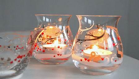 Centros de mesa navide os con velas - Centros de mesa navidenos hechos a mano ...