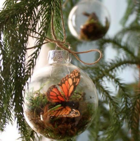 Decorar esferas navide as - Bolas navidad transparentes ...
