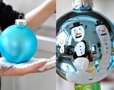 esferas de navidad decoradas