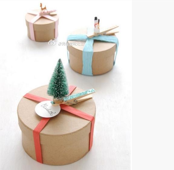 envoltorio original para regalos de navidad