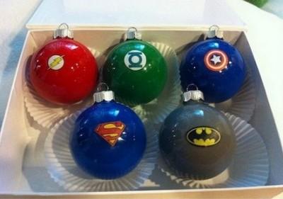 esferas de navidad decoradas para niños