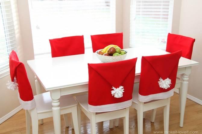 gorrito mesa navidad