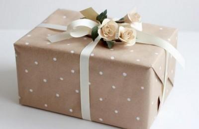 envoltorio para regalo de navidad