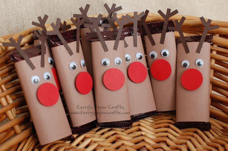Rudolphs para decorar dulces