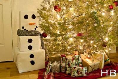manualidades de navidad carton