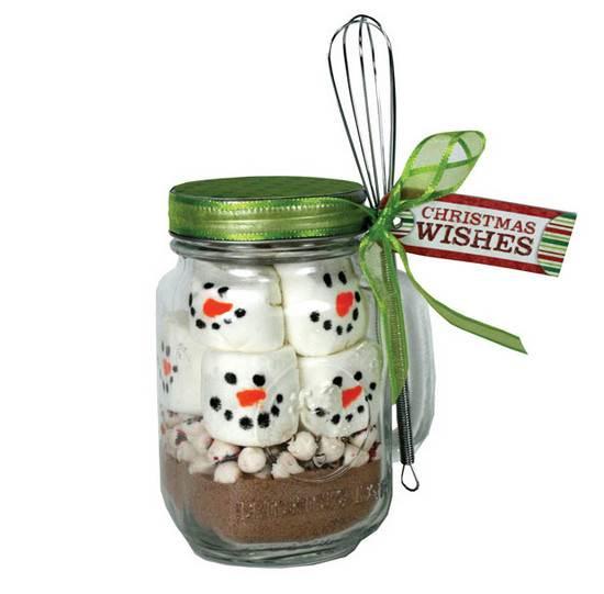 Manualidades con frascos de vidrio para navidad imagui for Manualidades souvenirs navidenos