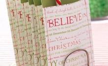 souvenirs de tela para navidad