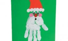 Xmas santa card